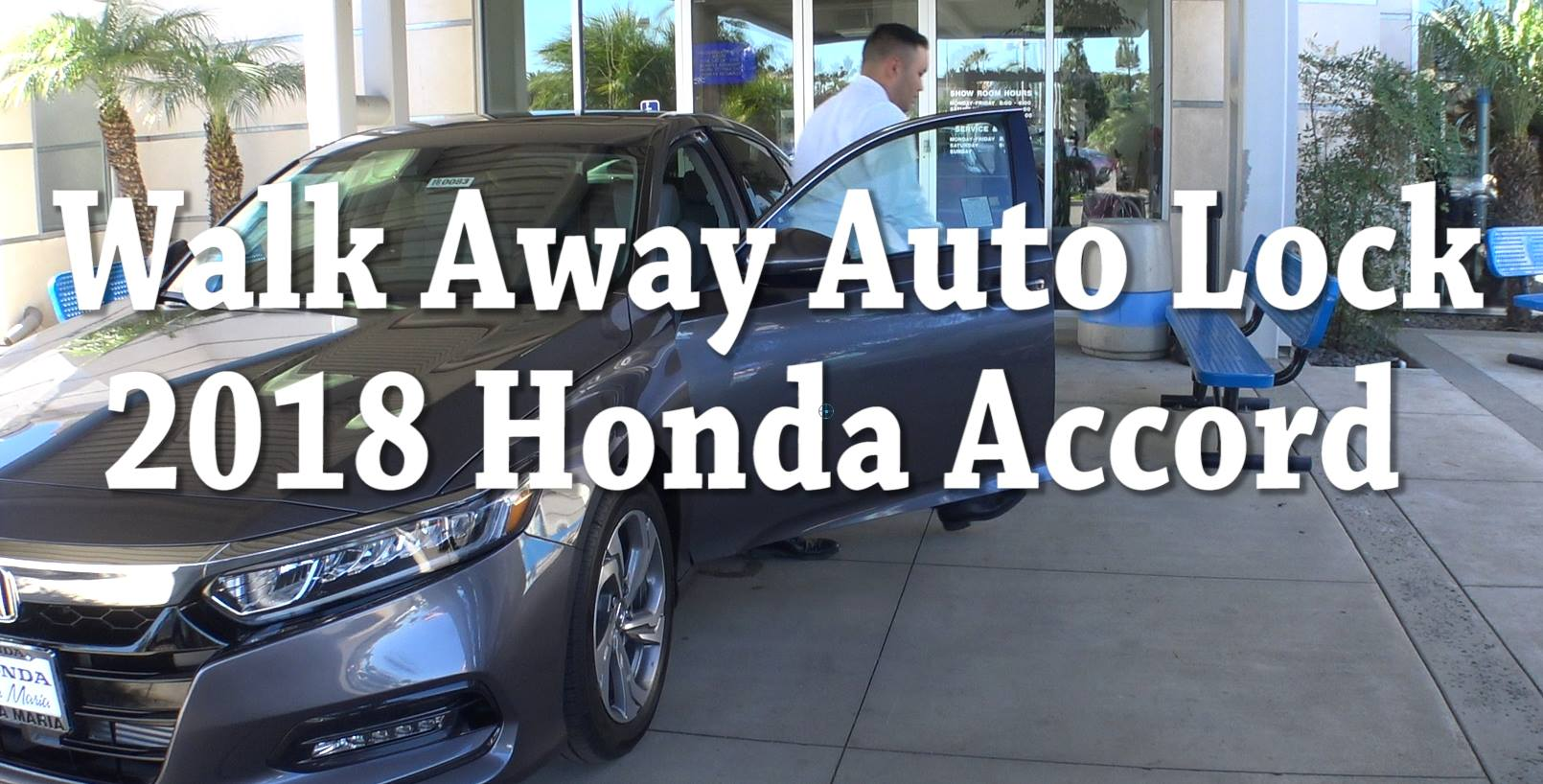 How To Set Up Walk Away Auto Lock On 2018 Honda Accord EX And Above Your Man